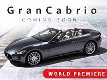 Мировой дебют Maserati GranCabrio состоится 15-го сентября 2009 г.
