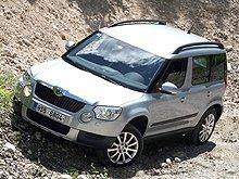 Skoda Yeti получил пять звезд по безопасности Euro NCAP