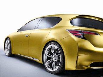 Lexus покажет во Франкфурте новый хэтчбека LF-Ch