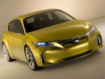 Lexus рассекретила внешность новой модели LF-Ch