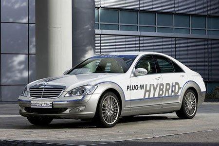Mercedes-Benz создал S-класс с расходом 3,2 л