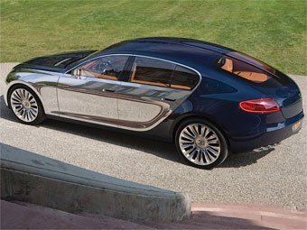 Bugatti представила седан Galibier 16C на каждый день
