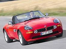 BMW Z8 исполнилось 10 лет