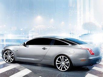 Jaguar готовит купе на базе нового седана XJ