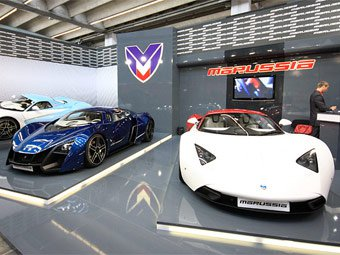 Российский спорткар Marussia будут собирать в Европе