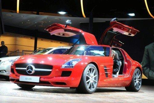 Mercedes-Benz объявил цену SLS AMG