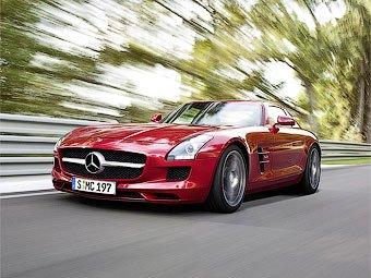 Mercedes-Benz SLS AMG получит