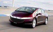 Honda FCX получила престижную награду за технологию топливных элементов