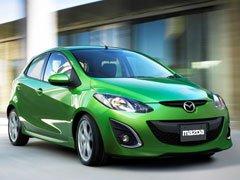 Mazda2 теперь тоже умеет улыбаться