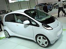 Mitsubishi i MiEV стал британским «Электромобилем 2009-го года»