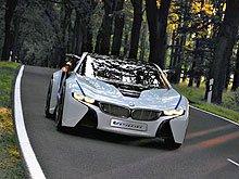 BMW анонсирует революционный гибридный концепт BMW Vision EfficientDynamics