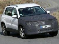 Обновлённый Volkswagen Tiguan проходит тесты
