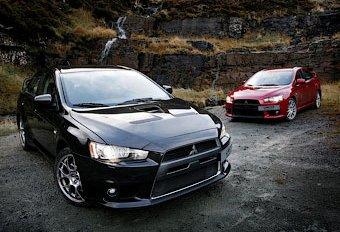 Новое поколение Mitsubishi Lancer Evo получит гибридную установку