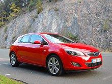 В Европе Opel презентовал новое поколение Astra J