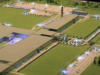 Под Калугой началось строительство целого комплекса заводов по выпуску автокомпонентов