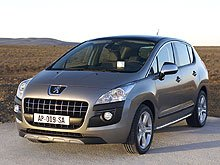 Peugeot 3008 признали лучшим автомобилем Европы 2010