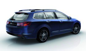 Acura выводит на рынок универсал TSX
