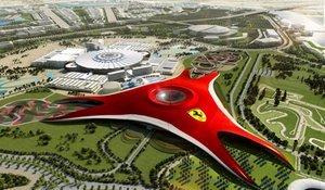 Самый большой в мире бутик и парк Ferrari открылся в Дубае (Видео)
