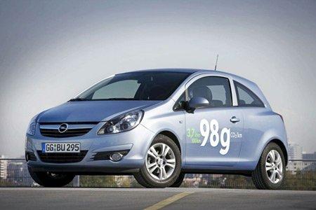 Opel выпустит на рынок самую экономичную версию Corsa с расходом топлива в 3,7 л