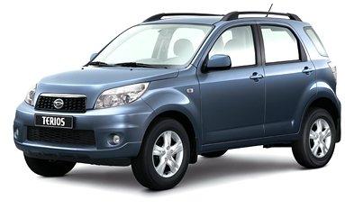 Daihatsu Terios с 2010 года будут предлагать с газовым двигателем