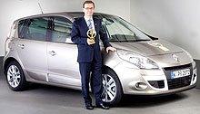 Новый Renault Scenic получил награду «Золотой Руль 2009»