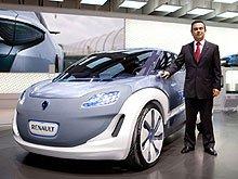 Renault представляет необычный электрический концепт-кар Zoe ZE