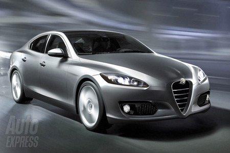 Alfa Romeo готовит 450-сильный premium-седан 169