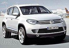 Каким будет новый Volkswagen Touareg (Фото)