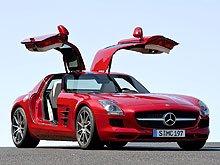Новый «крылатый» Mercedes-Benz SLS AMG удостоен премии «Золотой руль 2009»