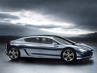 Peugeot заменит седаны 407 и 607 одной моделью