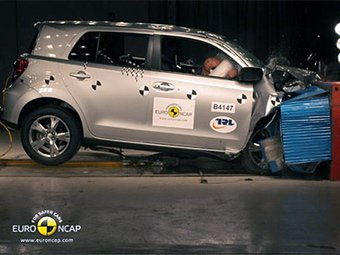 Toyota недовольна результатами последних краш-тестов Euro NCAP