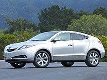 Acura официально представила спортивный кроссовер-купе ZDX