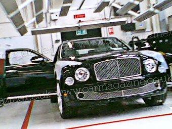На смену Bentley Arnage приходит неоклассика