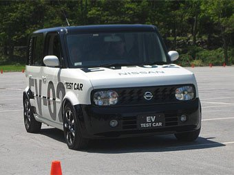 Электромобили Nissan будут заряжаться дистанционно