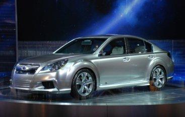 Субару (Subaru) показала два новых автомобиля