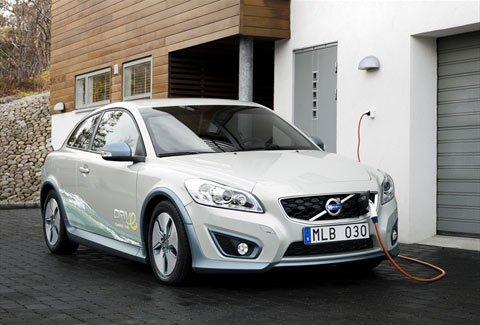 Вольво (Volvo) покажет свой электромобиль