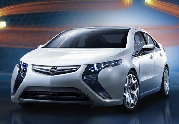 Опель (Opel) делает свой электромобиль