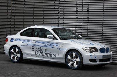 БМВ (BMW) показал электроконцепт ActiveE