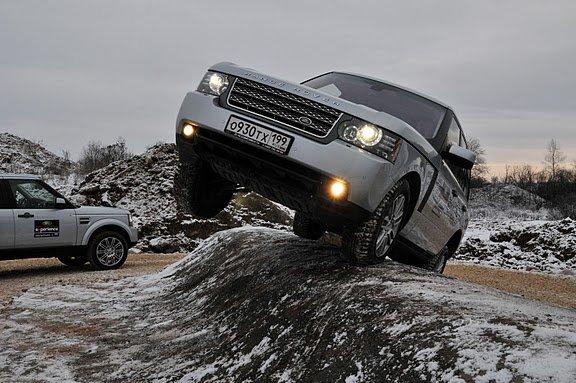 Ленд Ровер (Land Rover) открыл свой центр водительского мастерства