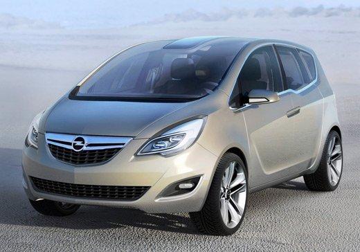 Опель (Opel) показал новую Мериву (Meriva)