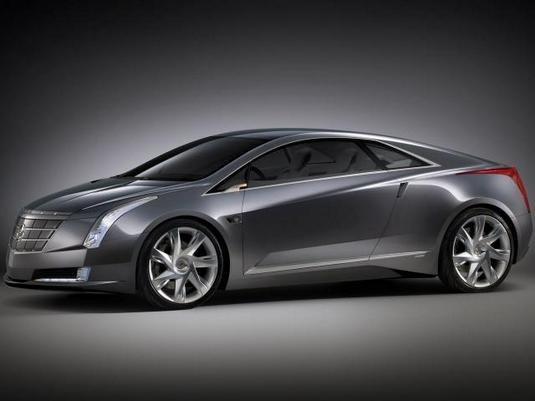 Кадиллак (Cadillac) выпустит гибридное купе Кадиллак Конверж (Cadillac Converj)