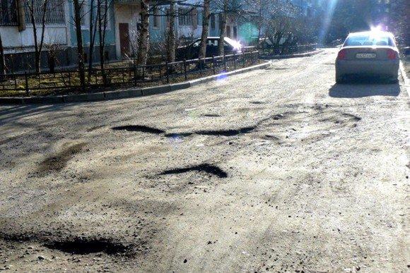 """""""Росгосстрах"""" выявил самые плохие дороги России"""