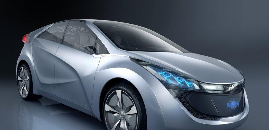 Показан гибридный Хенде БлюВилл (Hyundai Blue-Will)