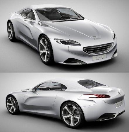 Пежо создал новый концепт Пежо SR1 (Peugeot SR1)