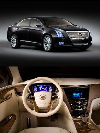 Кадиллак (Cadillac) представил концепт XTS Платинум (XTS Platinum)
