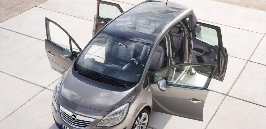 Новый Опель Мерива (Opel Meriva) скоро в продаже