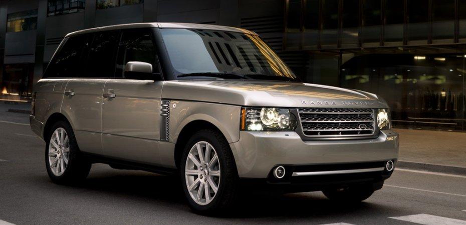 Англичане назвали Рейндж Ровер (Range Rover) авто десятилетия