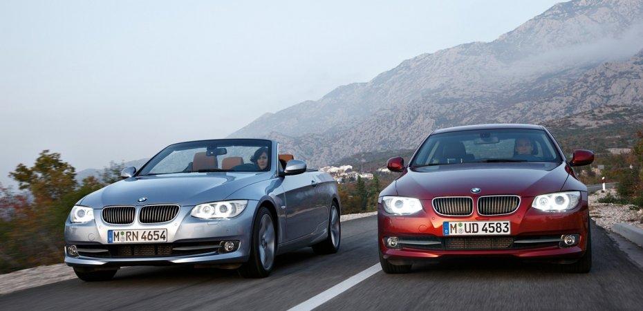 Новые БМВ (BMW) купе и кабриолет 3-й серии