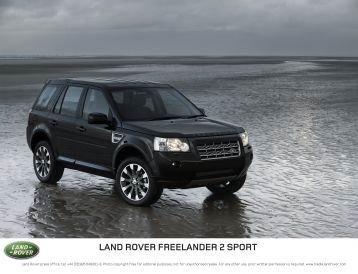 Ленд Ровер (Land Rover) выпустил Фрилендер 2 Спорт (Freelander 2 Sport)