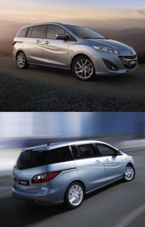 Новая Мазда 5 (Mazda5) – первые фото